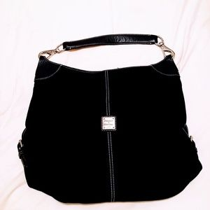 Dooney & Bourke Black Suede Bag
